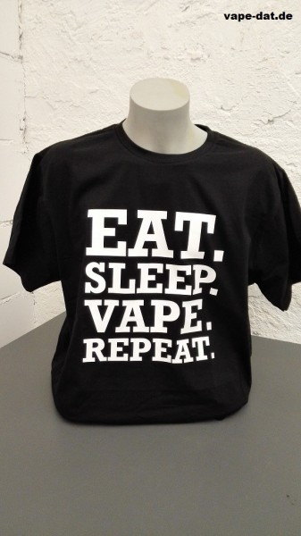 T-Shirt EAT.SLEEP.VAPE.REPEAT