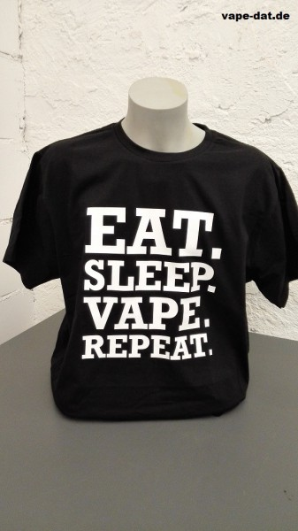T-Shirt EAT.SLEEP.VAPE.REPEAT