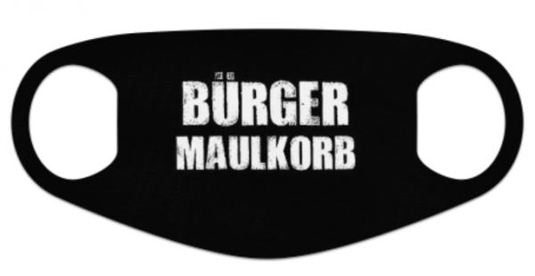 Behelfsmaske Maske BÜRGER MAULKORB (Neopren)