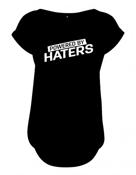 POWERED BY HATERS Slub T-Shirt