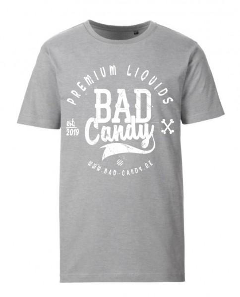 """BAD CANDY Premium T-Shirt """"BC"""" gray/white"""