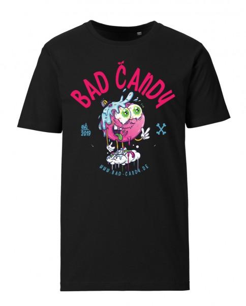 "BAD CANDY Premium T-Shirt ""BERRY"" black"