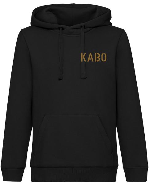 KABO Hoody / Kapuzenpullover ERDIG Brust klein