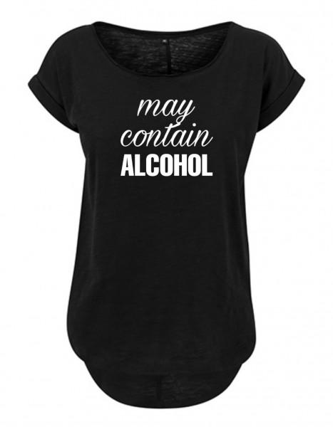 ALCOHOL Slub T-Shirt