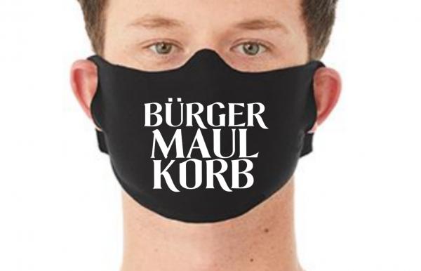 Behelfsmaske Maske BÜRGER MAULKORB