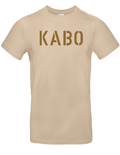 KABO T-Shirt (ERDIG) SAND Brust GROSS