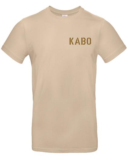 KABO T-Shirt (ERDIG) SAND Brust klein