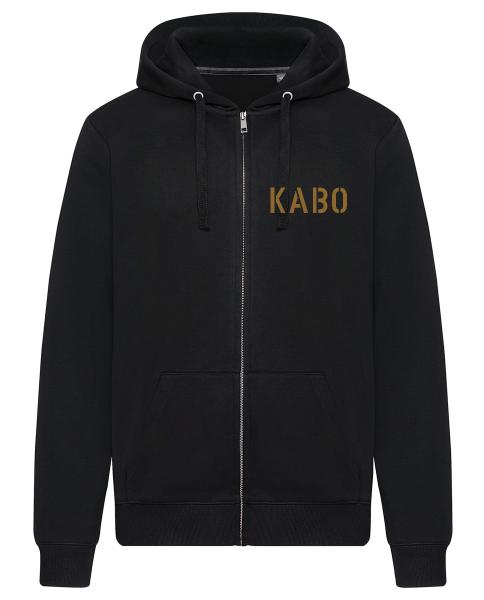 KABO Zip Hoody / Kapuzenjacke (ERDIG) Brust klein