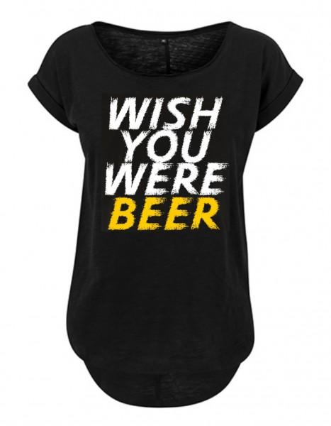 WISH YOU WERE BEER Slub T-Shirt