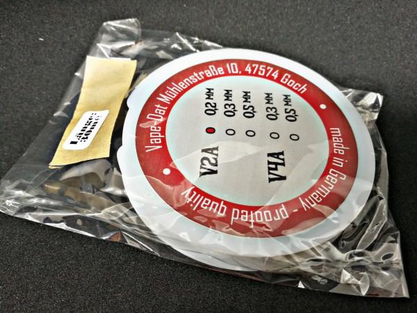 WICK'n VAPE Dat Wire V2A 0,2 / 30m auf Spule