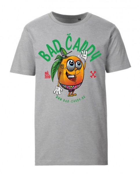 "BAD CANDY Premium T-Shirt ""MANGO"" gray"