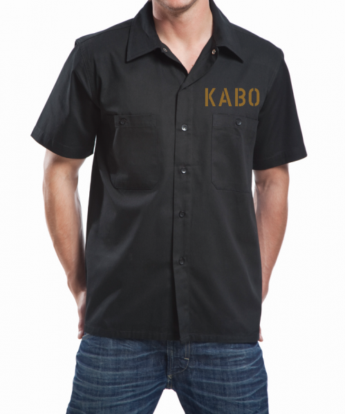 KABO Workershirt/Hemd ERDIG Brust klein