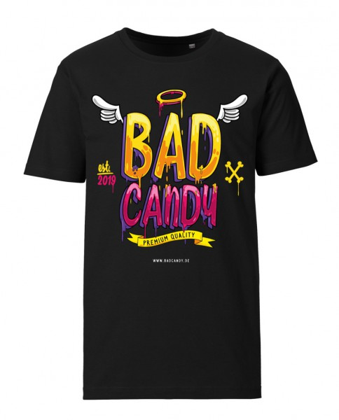 "BAD CANDY Premium T-Shirt ""WINGS"" black"