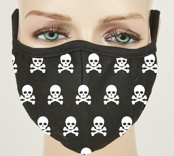 Behelfsmaske Maske SKULL