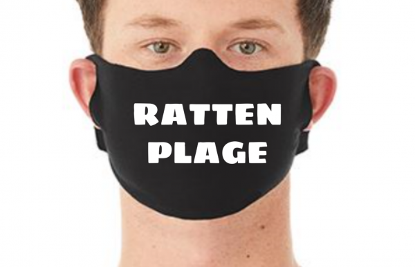 Behelfsmaske Maske RATTENPLAGE