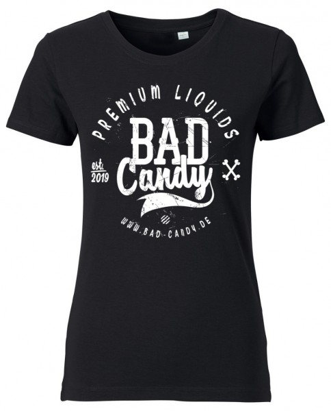 "BAD CANDY Ladies T-Shirt ""BC"" black"
