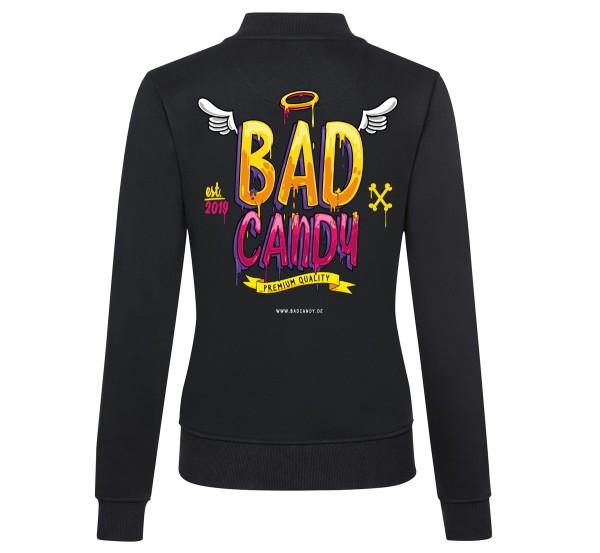 "BAD CANDY Premium Ladies Sweat-Bomberjacke ""WINGS"""