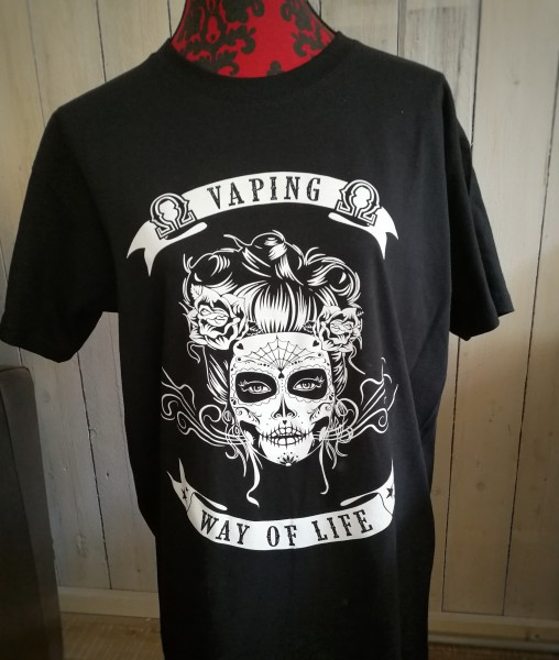 LA CATRINA vaping way of life Herren T