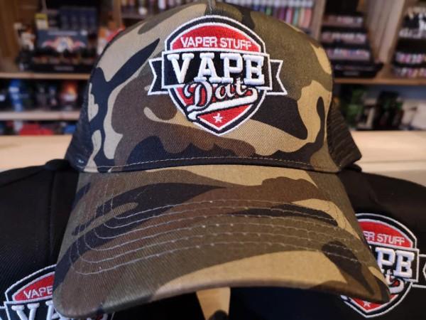 Camouflage Cap classic Trucker VAPE DAT 3D Stick