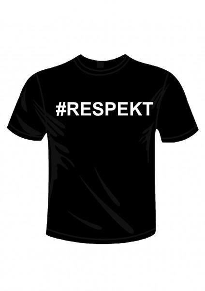 Ladies Shirt #RESPEKT Druck Brust